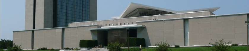 The National Libary of Medicine building