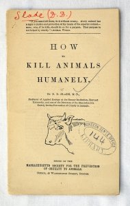 cover of a small pamphlet illustrated with a drawing of a cow