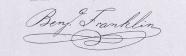 Benjamin Franklin's Signature