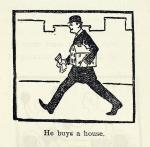 he buys a house