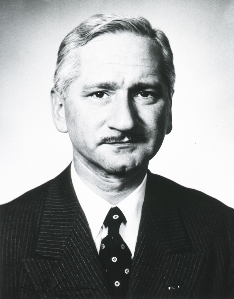 Photograph of Dr. Albert Sabin