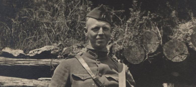 Stanhope Bayne-Jones in WWI uniform.