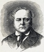 An engraved portrait of T. Glover
