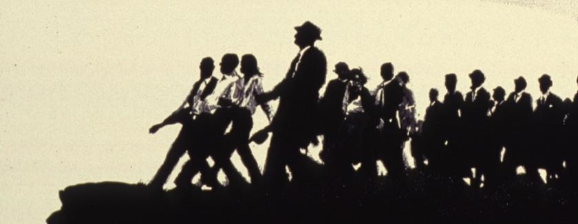 Illustration of the March on Washington.