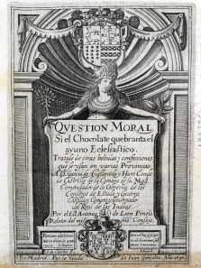 Title page for the book Question Moral.