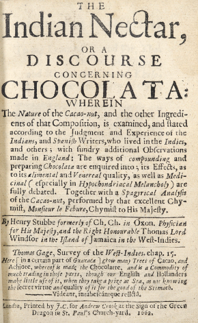Title page for the Indian Nectar.