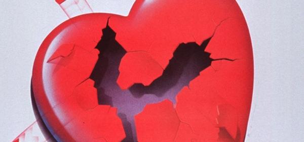 Illustration of a broken heart.