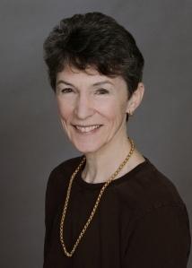 A formal portrait of Kerry Kelly Novick.