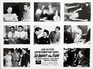A series of film stills from the movie So Bright the Flame.