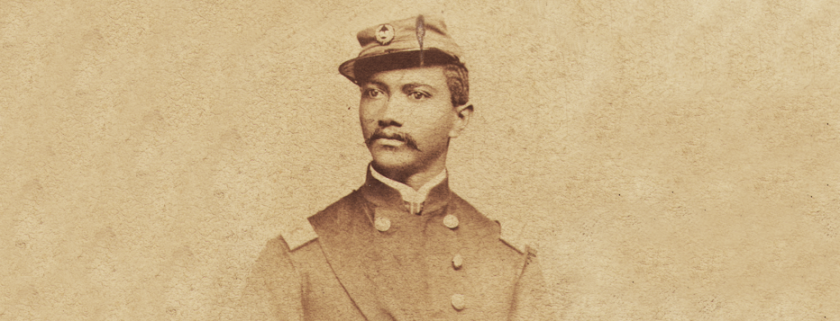 Alexander T. Augusta in Uniform.