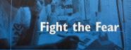 Blue poster for the Gay Men's Health Crisis' HIV hotline.