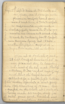 Page of diary handwritten in pencil headed by the date September 27.