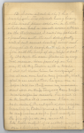 Page of diary handwritten in pencil headed by the date October 12.