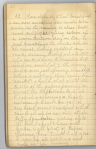 Page of diary handwritten in pencil headed by the date October 23.
