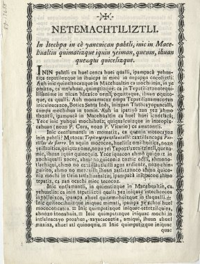 A page of printed text with a title and several paragraphs and a decorative border.