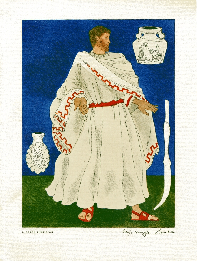 Medical Costume Greek Physician.
