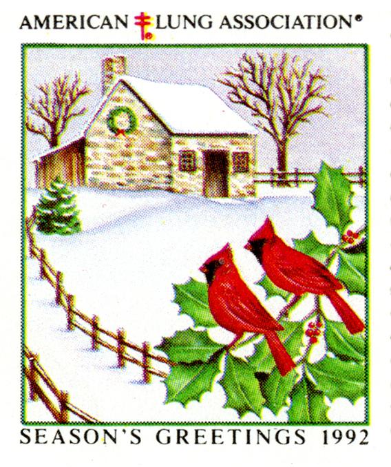 1992 Christmas Seal