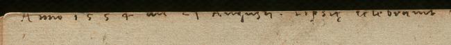 A partially illegible inscription.