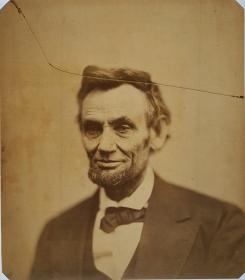 photgraphic portrait of President Abraham Lincoln