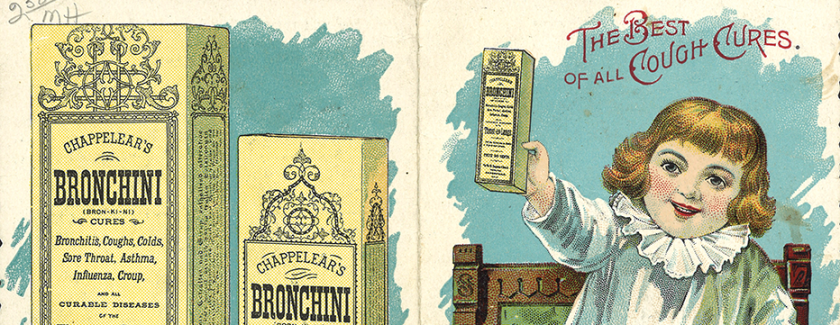 Chappelear's Bronchini, the great cure, the best of all cough cures.