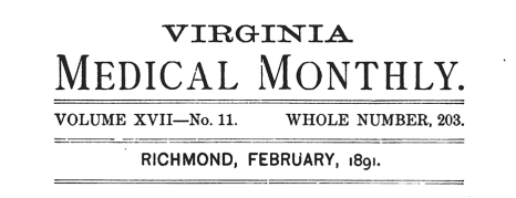 VirginiaMedicalMonthly-TitlePage-Feb1891_feature