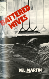 The cover of the book Battered Wives by Del Martin.