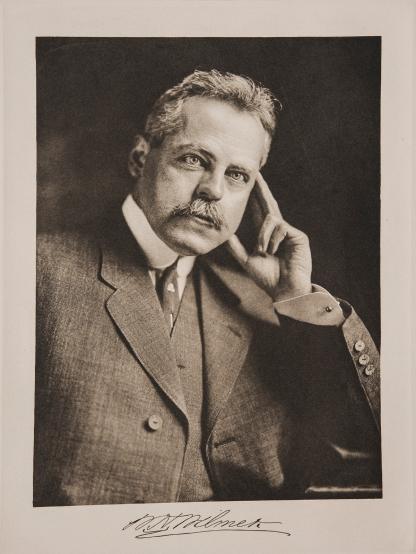 Portrait and signature of William Holland Wilmer.