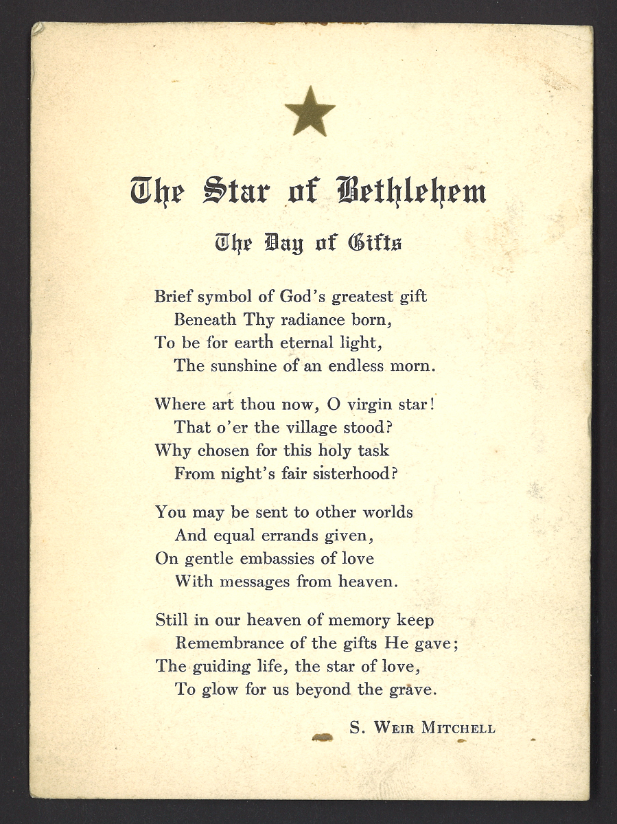 The gifts of christmas poem