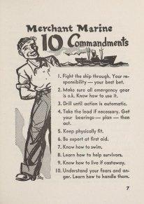 Merchant Marine 10 Commandments