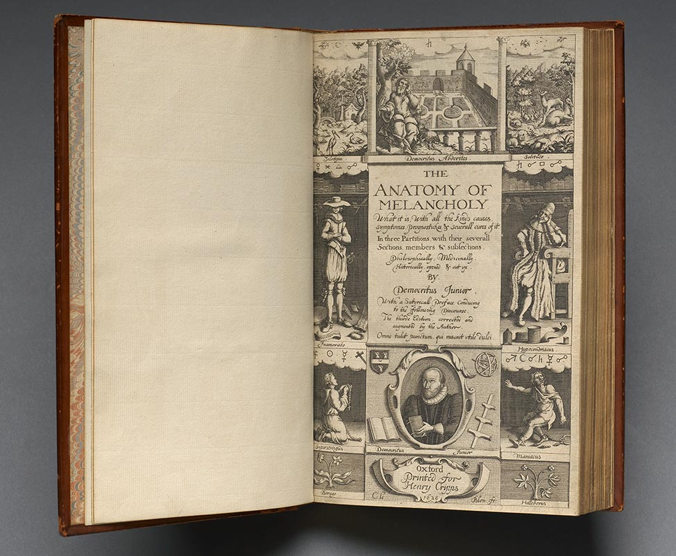 14 Robert Burton Anatomy Of Melancholy 1628 Circulating Now