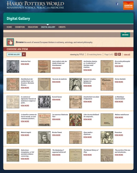 Digital screenshot of collection of images.