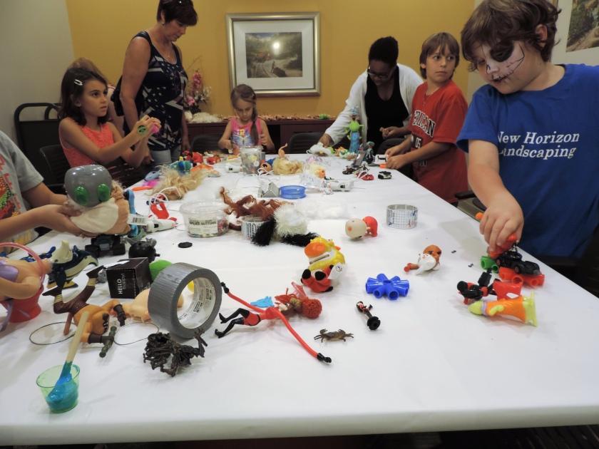 PBCLS Frankenstein Exhibit Frankentoy program