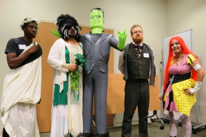PBCLS Frankenstein Exhibit Monster Mash Costume Contest 1