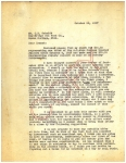 A typewritten letter expressing anger and indignation, and calling for a meeting to disucuss selling his interest in the buisiness.