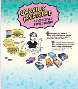 A banner from the Graphic Medicine: Ill-Conceived & Well Drawn Special Display.