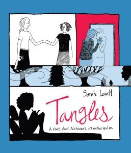 Cover of the graphic memoir Tangles by Sarah Levitt