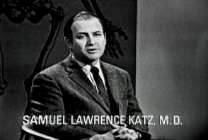 Samuel Lawrence, Katz, M.D. speaks on a panel.