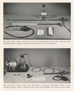 Two vignettes of medical scoping instruments
