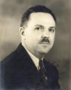 A signed photograph of Dr. Alton Ochsner