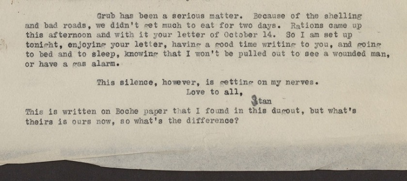 Ours Wont Be As Fierce This Time But >> One Medical Officer S Armistice Day Circulating Now From Nlm