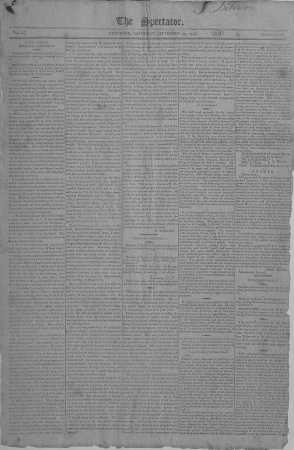 A page of newspaper text