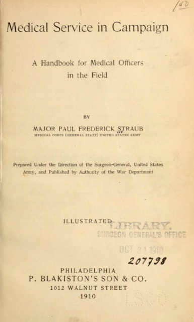 The title page of a government publication.